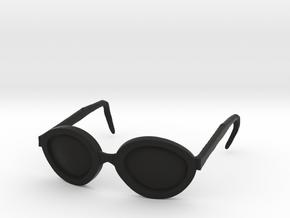 Marla Glasses in Black Natural Versatile Plastic: Small