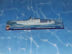 HMCS DDH 206 Saguenay 1965 1/1250 in Smoothest Fine Detail Plastic
