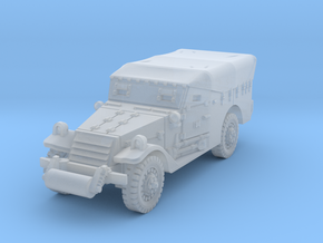 M3A1 Scoutcar early (closed) 1/144 in Smooth Fine Detail Plastic
