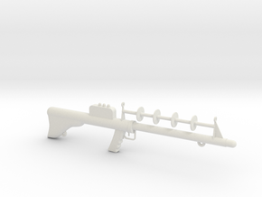Lost in Space Season 1 Laser Rifle with eyelet in White Natural Versatile Plastic