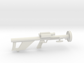 Lost in Space Season 2/3 Laser Rifle with eyelet in White Natural Versatile Plastic