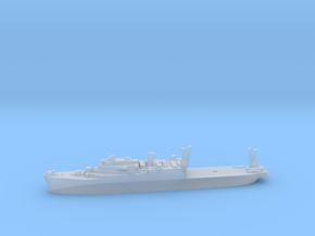 USS Pine Island seaplane tender 1:2400 WW2 in Smoothest Fine Detail Plastic