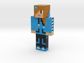 BlueBuckeyes | Minecraft toy in Natural Full Color Sandstone