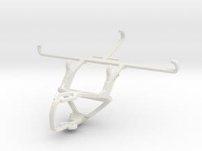 Controller mount for PS3 & vivo S1 Pro in White Natural Versatile Plastic