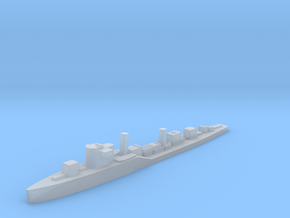 Soviet Groza guard ship 1:1800 WW2 in Smoothest Fine Detail Plastic