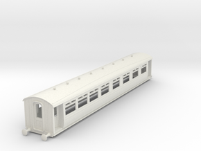 0-32-lnwr-M11-pp-comp-saloon-coach in White Natural Versatile Plastic