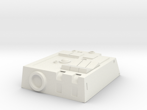 Pilot chest box in 1/6 scale in White Natural Versatile Plastic