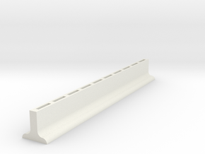 Sample Rack in White Natural Versatile Plastic