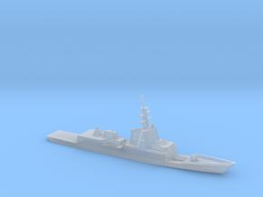 1/2400 Scale Spanish frigate Álvaro de Bazán in Smooth Fine Detail Plastic