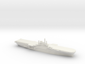 US Iwo Jima-Class Amphibious Assault Ship in White Natural Versatile Plastic