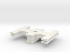 Bolster - Zscale in White Natural Versatile Plastic
