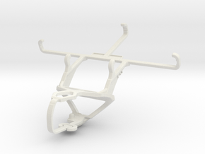 Controller mount for PS3 & Samsung Galaxy Xcover 4 in White Natural Versatile Plastic