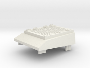 USS Flagg Tow Vehicle Engine Cover in White Natural Versatile Plastic