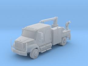 4 Door Freightliner Signal Truck 1-87 HO Scale in Smooth Fine Detail Plastic