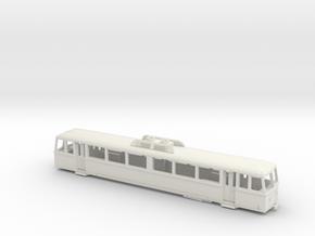 MG Bhm 2/4 - H0e 1:87 in White Natural Versatile Plastic