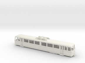 MG Bhm 2/4 - H0e 1:87 in White Natural Versatile Plastic