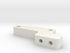 JaBird RC Panhard Mount - CF Rail Type in White Natural Versatile Plastic