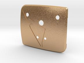 "Pre-Facelift Cupra Front ""S"" Badge - Mount Part in Natural Bronze"