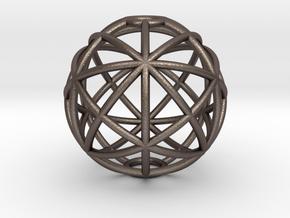torus_pearl_type6_ultrathin in Polished Bronzed-Silver Steel