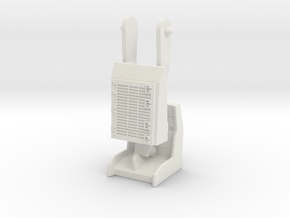 USS Flagg Tow Vehicle Completion Bundle in White Natural Versatile Plastic