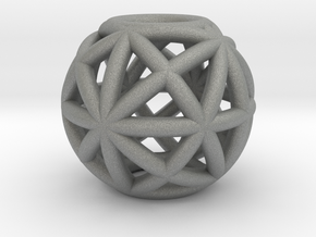 torus_pearl_type4_normal in Gray PA12: Small