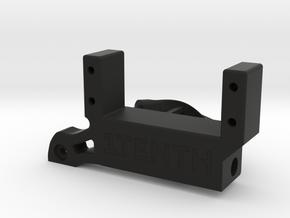 V2.3 Traxxas Portal SOA 4Link Adapter w Brace in Black Natural Versatile Plastic