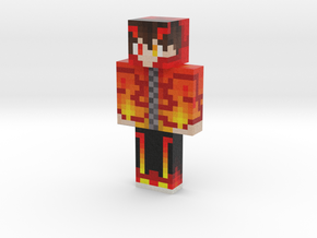 flame_seraph | Minecraft toy in Natural Full Color Sandstone