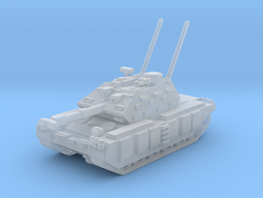 Main tank Arghos M22E in Smooth Fine Detail Plastic