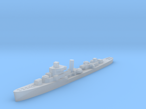 USS Jouett destroyer late war 1:1800 WW2 in Smoothest Fine Detail Plastic