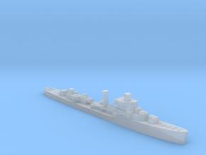 USS Davis destroyer late war 1:2400 WW2 in Smoothest Fine Detail Plastic