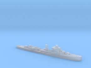 USS Jouett destroyer late war 1:2400 WW2 in Smoothest Fine Detail Plastic