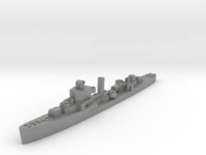 USS Jouett destroyer late war 1:3000 WW2 in Gray PA12
