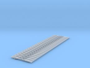NEM OO Type 1 Couplings - Strait 3 Link x25 in Smooth Fine Detail Plastic