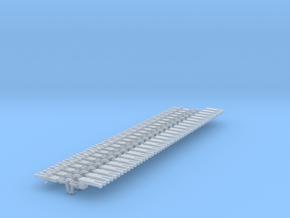 NEM OO Type 5 Couplings - Adaptor 3 Link x25 in Smooth Fine Detail Plastic