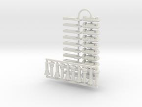 Steve D's roadrailer parts in White Natural Versatile Plastic