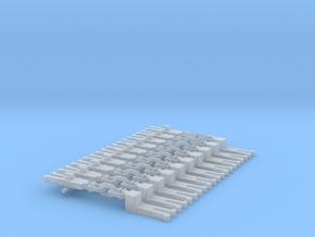 NEM OO Type 10 Couplings - Adaptor 3 Link x10 in Smooth Fine Detail Plastic