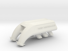 Ford Performance Intake - Hoonitruck Style -for RC in White Natural Versatile Plastic