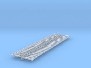 NEM OO Type 17 Couplings - Strait Instanter x25 in Smooth Fine Detail Plastic