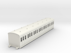 o-87-gcr-london-sub-1st-class-coach in White Natural Versatile Plastic