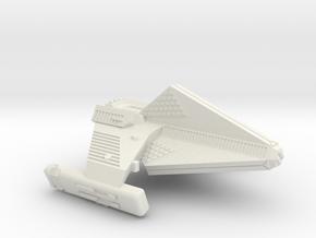 3125 Scale Tholian TK5 Destroyer WEM/SRZ in White Natural Versatile Plastic