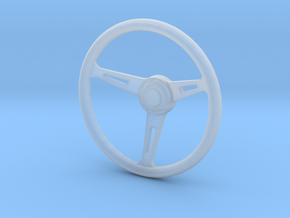 1:12 Three spoke Steering Wheel in Smoothest Fine Detail Plastic