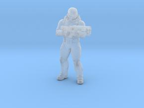 Doom UAC Elite Guard 1/60 miniature for games rpg in Smooth Fine Detail Plastic