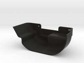 D110 Rear Inner Fender Right in Black Natural Versatile Plastic