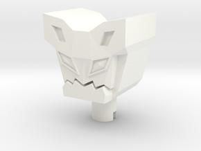 TR: Spensor custom head in White Processed Versatile Plastic