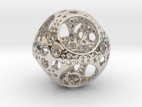 Apollonian Octahedron Mini in Platinum