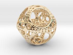Apollonian Octahedron Mini in 14K Yellow Gold