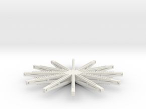 Force 10 Sweeps in White Natural Versatile Plastic