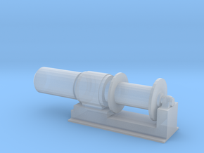 1/32 Scale 36 Inch Electric Winch in Smooth Fine Detail Plastic