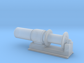 1/72 Scale 36 Inch Electric Winch in Smooth Fine Detail Plastic