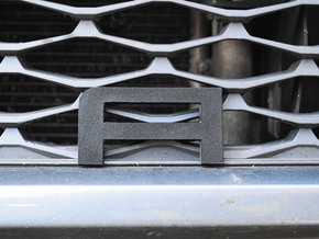 Cupra Lower Grill 'A' in White Natural Versatile Plastic